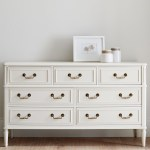 The Friday Five: Classic White Dressers
