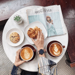 Photography: Croissants and Newspapers