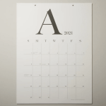 Marketplace: Wall Calendar