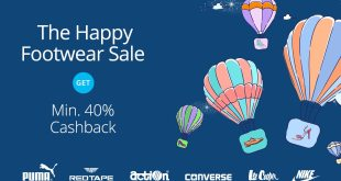 cashback on footwears