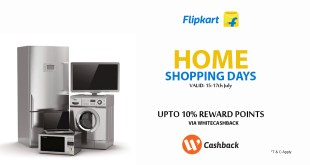 flipkart cashback deals India