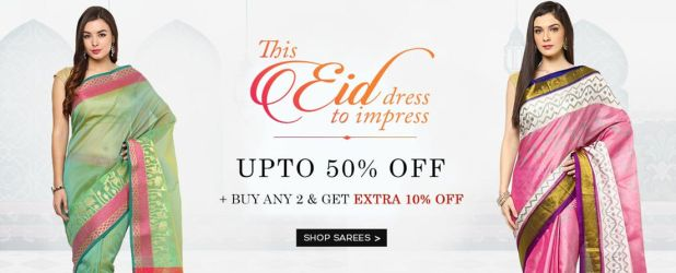 yepme eid shopping offers via Whitecashback
