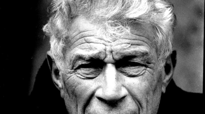 Portrait of John Berger by Jean Mohr