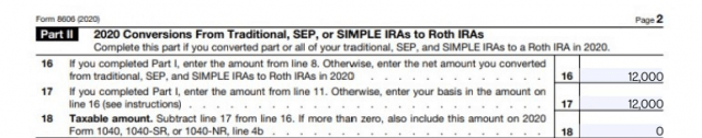 Backdoor Roth IRA Late Contributions Pt2