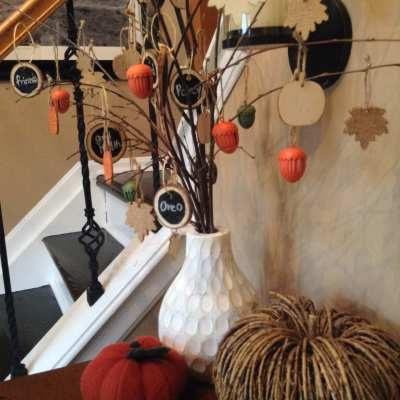 DIY Thanksgiving Thankful Tree