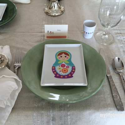 Putting Together a Place Setting