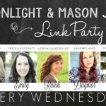Moonlight & Mason Jars Link Party #185