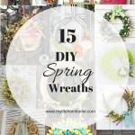15 Spring Wreaths You Can DIY
