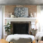 Using Fall Pastels in our Family Room