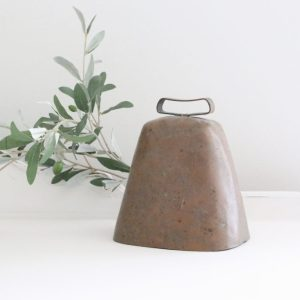 cow bell- farmhouse- vintage- cottage- rustic