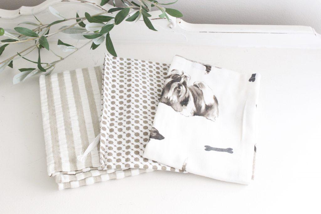 cotton- tea towels- kitchen