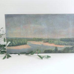 art- home decor- cottage style- landscape- canvas- artwork