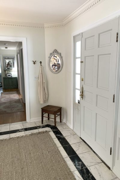 $100 Room Makeover Challenge~ Entryway: White Cottage Home & Living