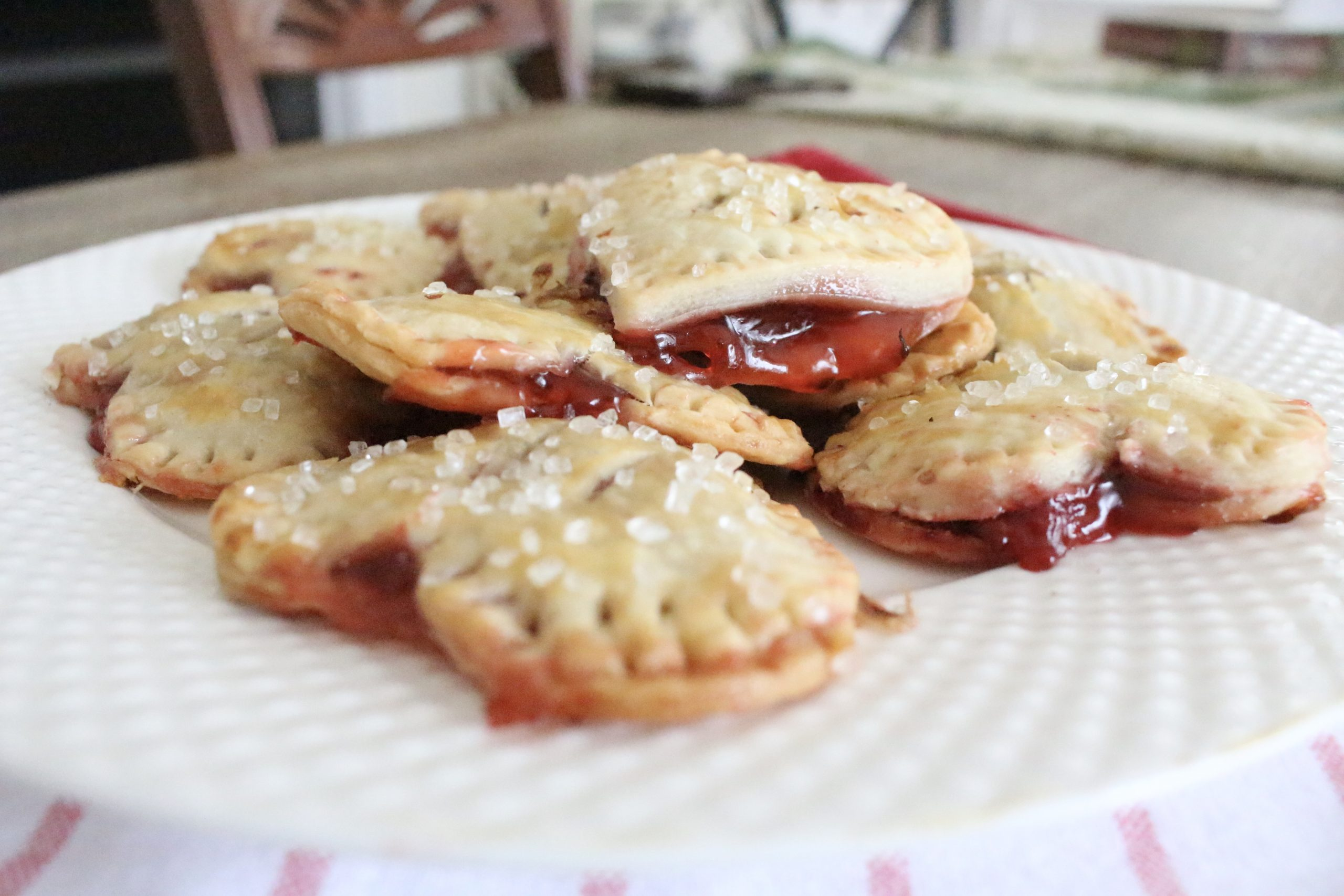 Heart Hand Pies for Valentines Day~ White Cottage Home & Living