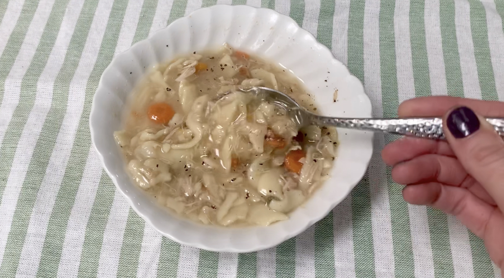 Homemade Chicken Noodle Soup~ White Cottage Home & Living