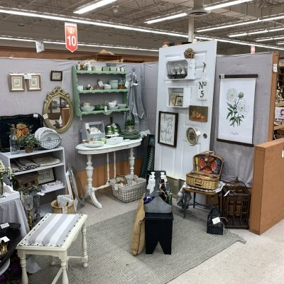 Cottage Home Decor Antique Booth~ White Cottage Home & Living