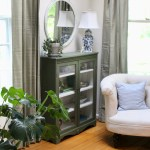 Antique Cabinet Gets a Makeover with Green Fusion Mineral Paint