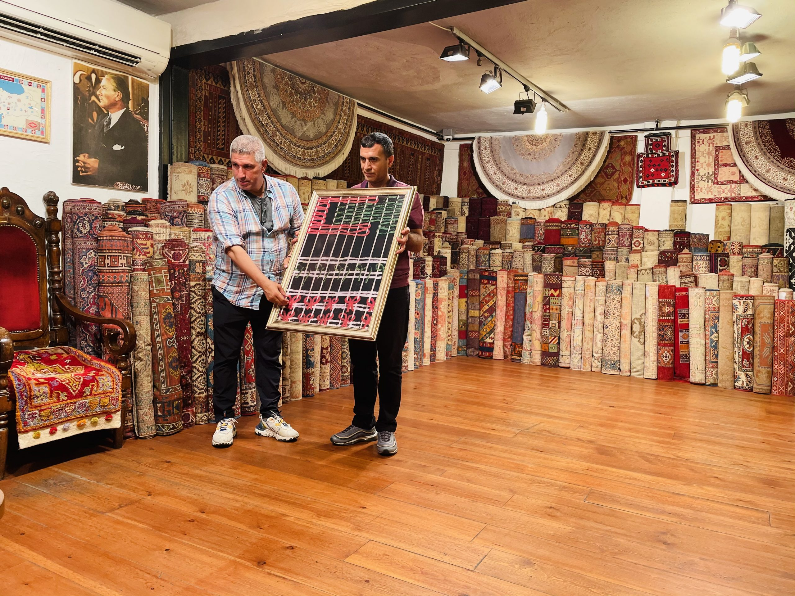 Buying a Turkish Carpet in Turkey