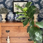 Updating a Small Space with Removable Wallpaper