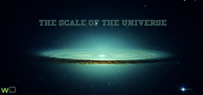 scale of the universe