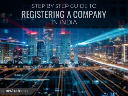 step by step guide to registering a company in india