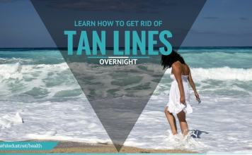 how to get rid of tan lines