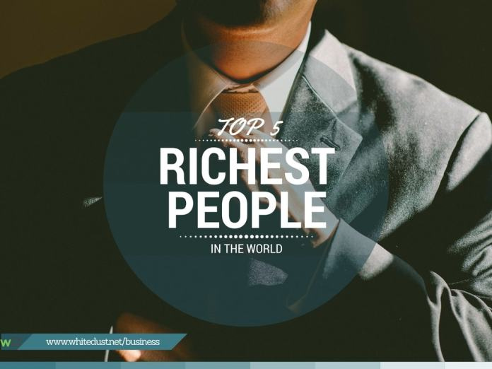 Top 5 Richest People in the world 2016-17