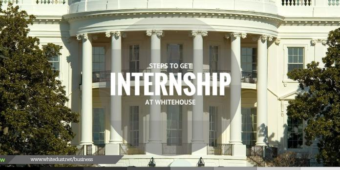 here are the steps to get job in whitehouse