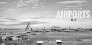 WORLD TOP'S 10 airports