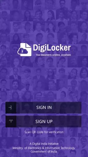 DIGILOCKER app