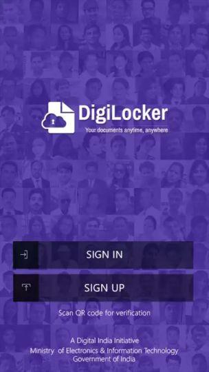 DIGILOCKER app