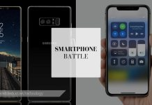Iphone x vs samsung note 8