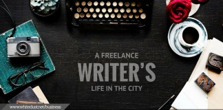A Freelance Writer's Life in the City