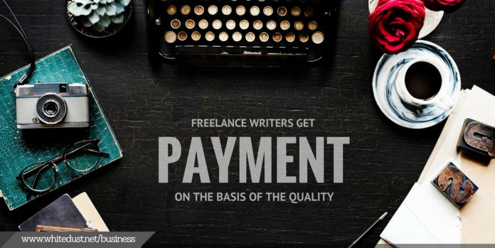 how much a freelancer writer get paid