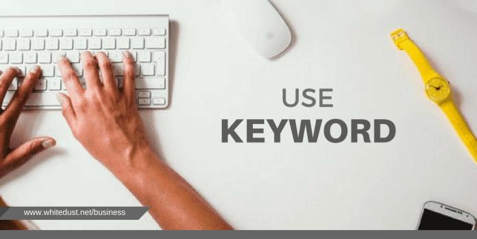 Use Keyword