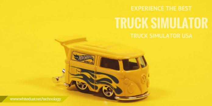 Experience the best Truck Simulator; Truck Simulator USA