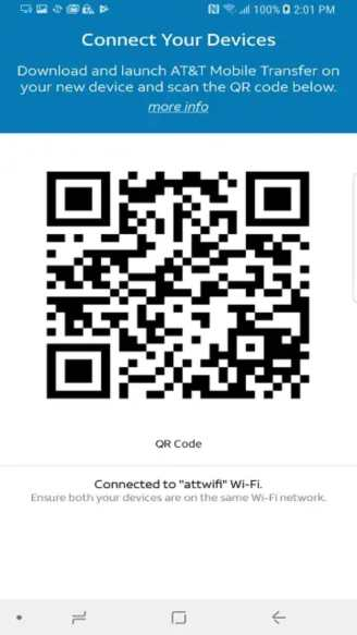AT&T Mobile Transfer app