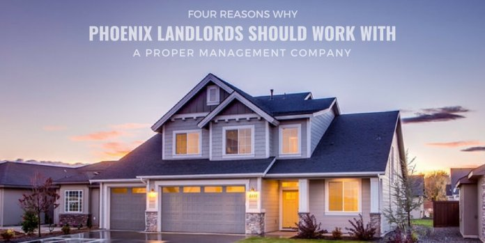 4 Reasons Why Phoenix Landlords Should Work With a Proper Management Company One of the most important decisions landlords should make is whether or not hiring the services of a proper management firm is the ideal way for the portfolio. In many cases, most of the landlords manage their properties on their own, and they may have someone as an employee who will act as a resident manager. Rental properties are a great way of generating additional income. And this is why many Phoenix landlords should employ the services of a property management company. However, sometimes landlords require more assistance than they think, and that is when a property management company in Phoenix, AZ will make a lot of sense. Here are some of the reasons why a landlord should work with property management companies. Cost-effective and timely maintenance By hiring the services of a property management firm, you and your tenants will no longer have to worry about any repairs. That is because everything will be carried out in a skilled, timely and more affordable manner. All this will take an unwarranted strain off your back and also make your tenants stay in your property longer. When hiring property management companies, expect to hear a quote between 5 to 10% of what you collect in rent revenue. If the market is on a lower side, manage the things for yourself, you may want to do this until the market turns around. Also Read : Seven Tips For Hiring The Right Consulting Firm Lesser legal issues Property management firms are very knowledgeable when it comes to tenant-landlord laws. From the beginning, they will keep you from possible lawsuits. However, if the need for a legal action arises, you will have someone who knows what to do to ensure you are protected. Even a single avoided lawsuit can typically pay for this beneficial service. Better tenants The first impression can be pretty deceptive and even the honest and most plausible looking individuals can later become very difficult tenants. The best property managers have many years of experience reading individuals, and they always take the issue of screening potential tenants pretty seriously. They have the skills, knowledge and time to ensure that you get good tenants into your rental houses from the start. Many landlords look out for finding good tenants who accept the challenge of maintaining a safe and attractive property on their own. And this is where a company like Property Management comes into the play, who with little investment can manage your day to day management of your properties. Good tenants mean that you will enjoy renters who stay longer, take good care of your property and also pay rent on time. They will also perform regular inspections to ensure that the overall standard of your rental property is being maintained during the period of the tenancy. Also Read : How Does Your Landlord Calculate Your Rent? More time, less stress. By hiring a team of professionals to assist you, you will experience a better quality of life. You will no longer feel weighed down by many commitments that you cannot handle adequately. Every aspect of renting your houses to other people will be covered entirely leaving you more time on your hands and less stress. If you are someone who is busy growing business, a property management company will help you in searching for new properties, arrange finances for new properties or even change the structure of the business, hiring a company might do the work for you. HOW TO FIND A PERFECT PROPERTY MANAGEMENT COMPANY? If you are looking to select one, then follow the steps mentioned below: Take suggestions from friends and colleagues, also reach out to a few neighbours. Interview companies and get all your questions answered before you hand over the complete control of finding new tenants. Also Read : What You Really Need To Know Before You Pick A Real Estate Agent THE BOTTOM LINE Although hiring the services of a property management firm is not suitable for every landlord, you can significantly benefit from the services offered. A property management firm usually deals directly with tenants and prospects, and this will in return save you time and worries regarding marketing your rentals, handling repairs and maintenance problems, collecting rents, dealing with tenant issues, and also pursuing the eviction notices. However, the most significant contribution an ideal management firm brings is the knowledge and experience to your investment, by offering you the peace of mind that comes by knowing your properties are in good and reliable hands. And because a management firm is an independent entity, you will also avoid the bother of being an employer.