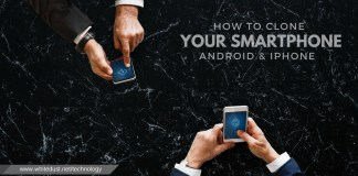 How to Clone your smartphone (android and iPhone)