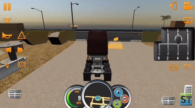 Truck Simulator gaming app