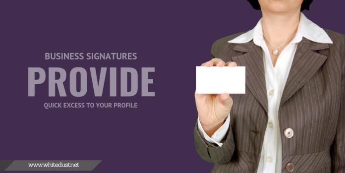 bnefits business signature