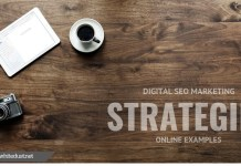 Digital SEO Marketing Strategies Online Examples