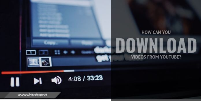 How can you download videos from YouTube?