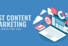 BEST CONTENT MARKETING IDEAS FOR YOU