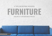 4 tips on buying wooden furniture online at affordable prices