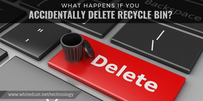 what happens if you accidentally delete recycle bin?