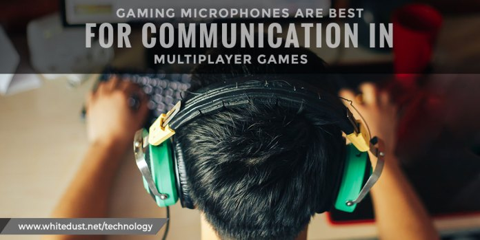 Gaming-microphones-are-best-for-communication-in-multiplayer-games