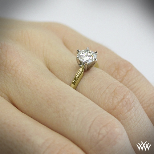 6 Prong Classic Diamond Solitaire 583