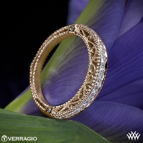 Verragio Beaded Diamond Wedding Ring 1985