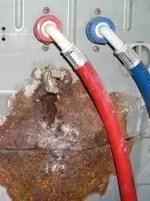 Leaking hoses